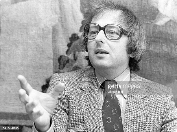 *Musiker Dirigent Pianist Komponist USAPorträt 1980