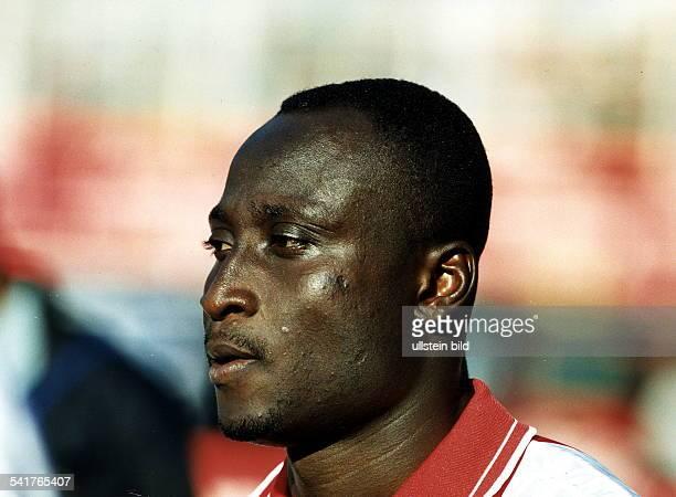 Sportler Fussball Ghana Porträt September 1997