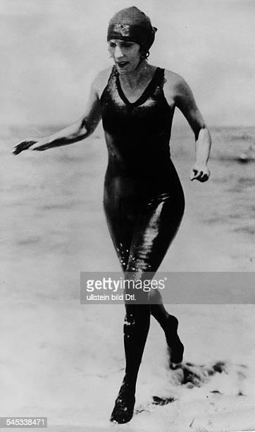 *06071887Schwimmerin Sportlerin Australien im Schwimmanzug