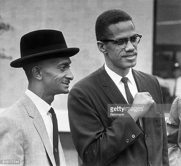 Malcolm X returned to his native Omaha for the first time to say that in Omaha as in other places the Ku Klux Klan has just changed it's bed sheets...