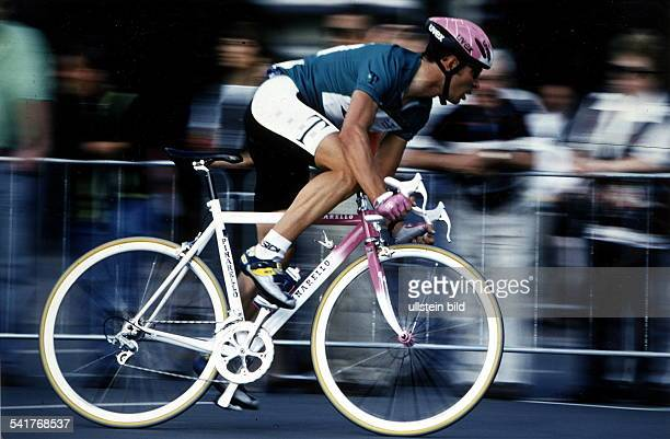 1970Sportler, Radrennen DTour de France 1997: im Grünen Trikot inAktion- Juli 1997