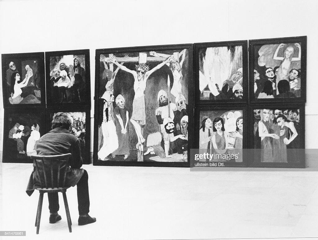 Künstler München Maler emil nolde ausstellung im haus der kunst in münchen 1957 pictures