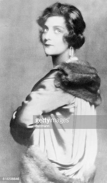 Paris, France- This picture is one of the latest studio portraits of Mme. Coco Chanel, owner of a famous Paris dressmaking house, and well-known...