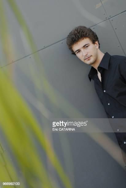 23rd Francofolies de La RochelleClose up of French singer Ronan Luce