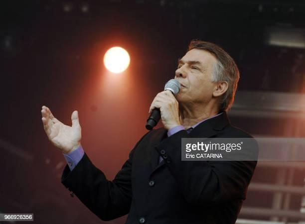 16th Music Festival des Vieilles CharruesBelgian singer Salvatore Adamo performing live