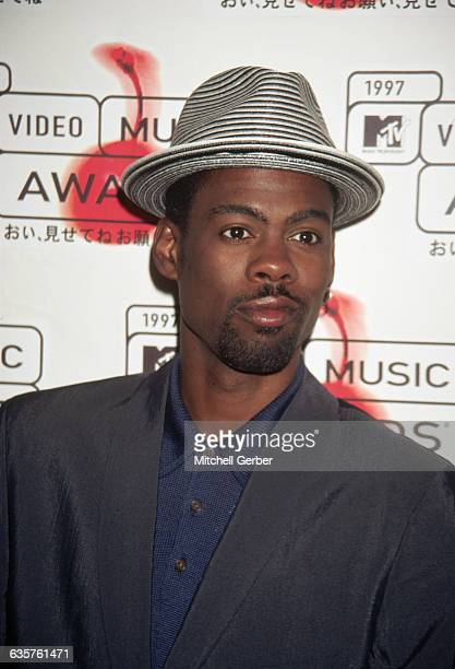New York NY Chris Rock announces nominations for the 1997 MTV Video Music Awards at the MTV studios