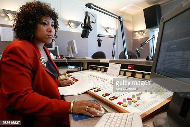 FI0220hdradio 2/19/04 Howard University Washington DC WHUR radio station is now fully digital in it's operating system and it's transmission Radio...