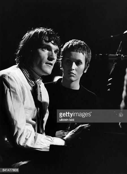 *Sängerin Jazz GrossbritannienKonzert in der Berliner Philharmonie im Rahmen der Berliner Jazztage 1968 mit Brian Auger November 1968