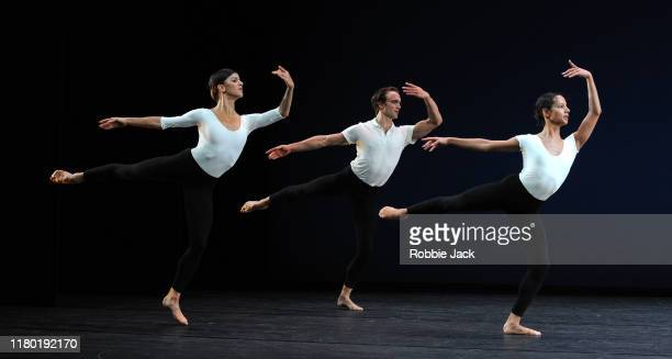 09Mayara Magri, Matthew Ball and Francesca Hayward in the Royal Ballet's production of Merce Cunningham's Cross Currents as part of the Merce...