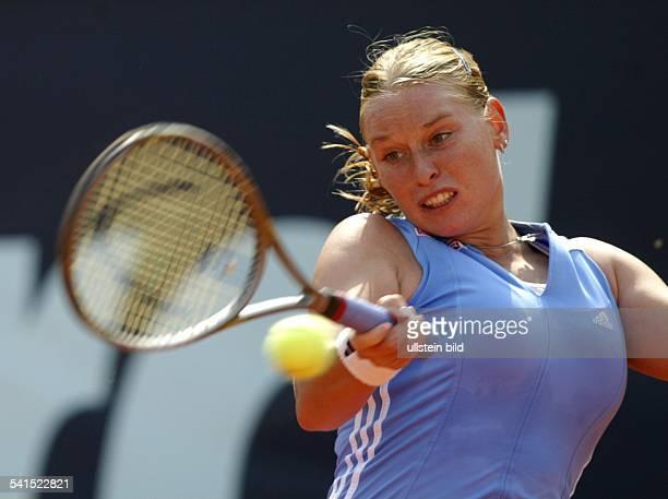 Sportlerin, Tennis, Österreichin Aktion bei den German Open
