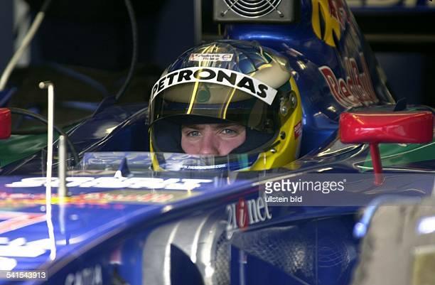 Sportler, Formel-1, DSauber-Petronasim Rennwagen