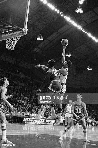 Milwaukee WI Milwaukee Bucks center Lew Alcindor making his debut in the  National Basketball Association is 945494fed