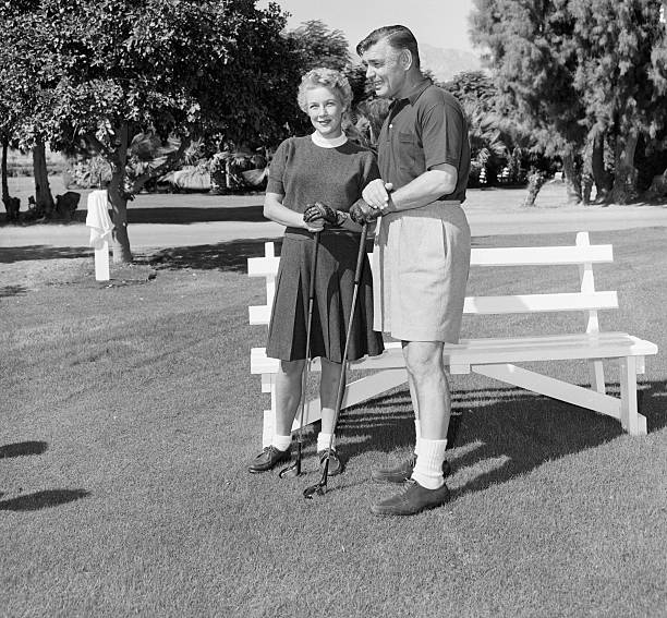 Clark gable with kay williams spreckles pictures getty for Thunderbird golf course palm springs
