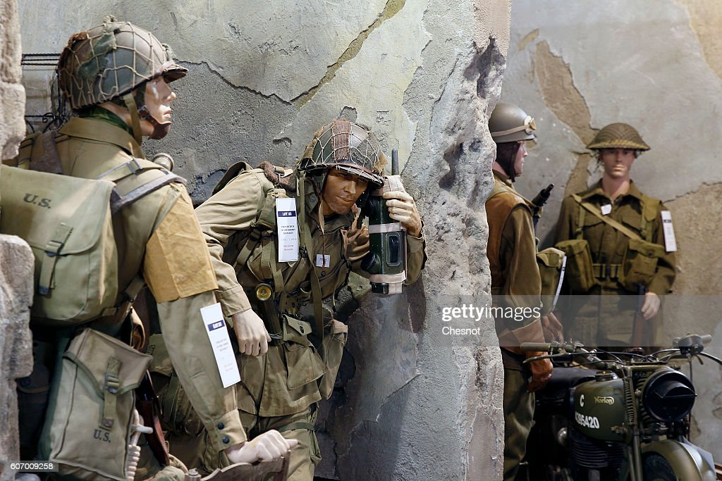 101st Airborne Us Paratrooper Uniform From The Nerrant Fils News Photo Getty Images