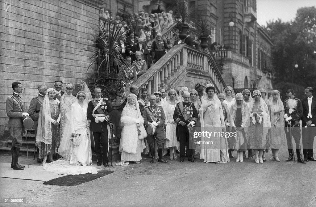 Italian Royal Wedding Party : News Photo