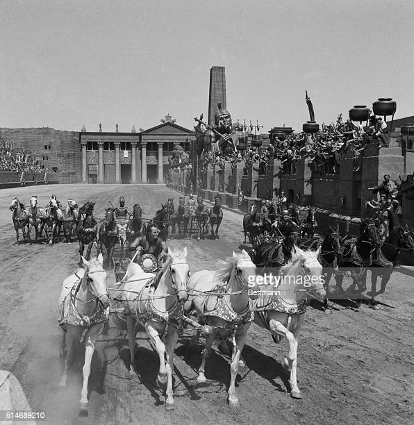 Rome Italy This chariot racea scene from out of the pages of historyis being run on the same road where some ancient Roman races probably were held...