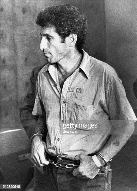 "Los Angeles, California- Angelo Buono, cousin of Kenneth Bianchi who earlier 10/22 pleaded guilty to five of the brutal ""Hillside Strangler"" murders,..."