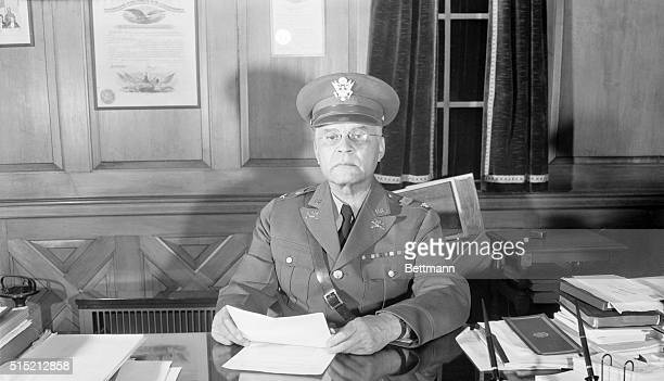 New York NY The first colored general in the history of the United States Regular Army is Brigadier General Benjamin O Davis pictured here He was...