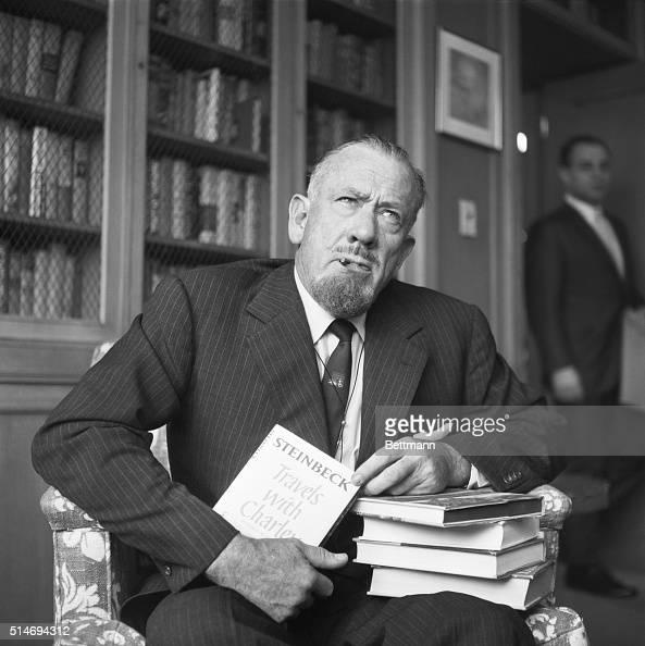 Nobel Prize For Literature John Steinbeck Author John Steinbeck,...