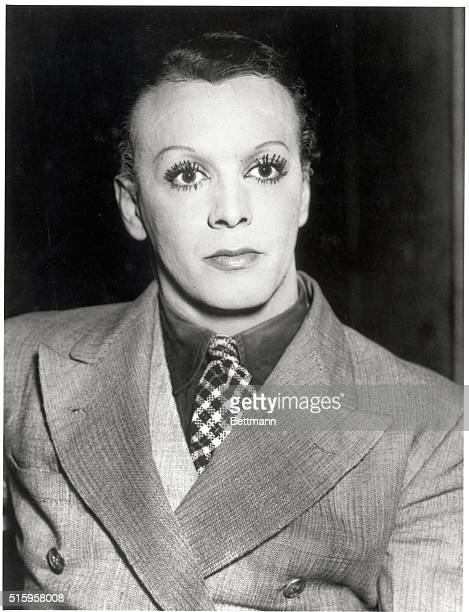 10/29/35Cleveland Ohio Photo of Leon La Verde female impersonator at the Torch Club in Cleveland