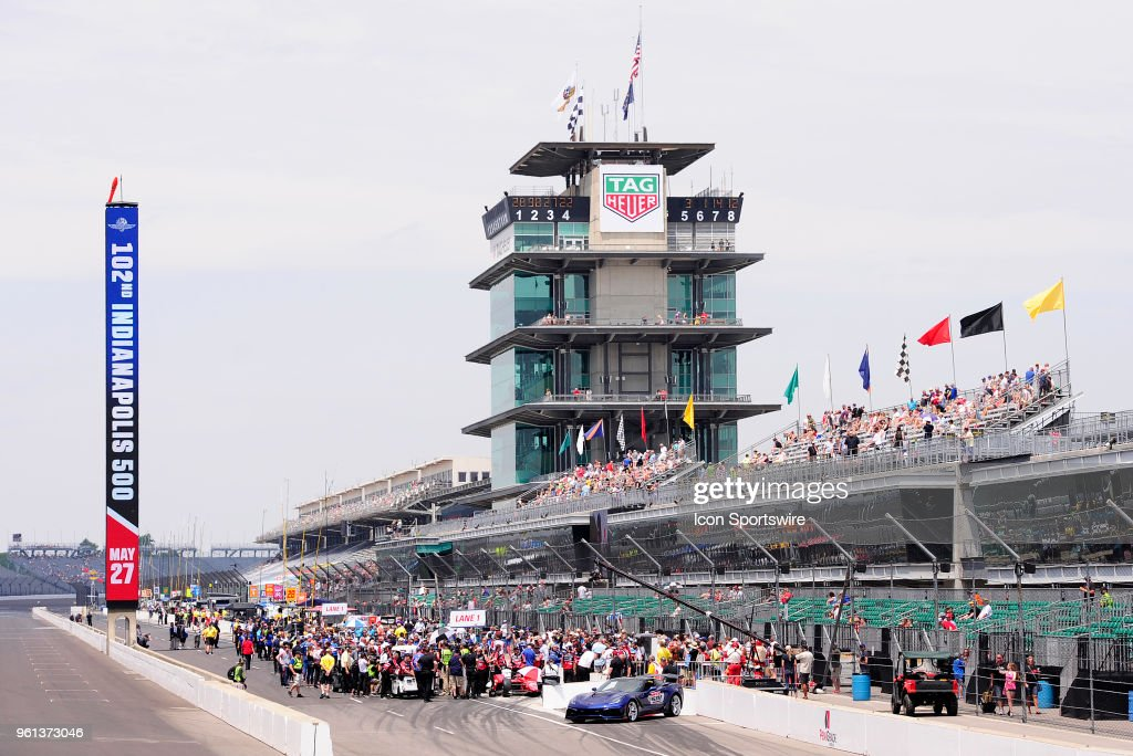 AUTO: MAY 20 IndyCar Series - Indianapolis 500 Pole Day : ニュース写真