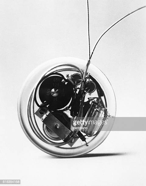 10/4/1978Stockholm Sweden Picture shows the worlds first pace maker invented in 1958