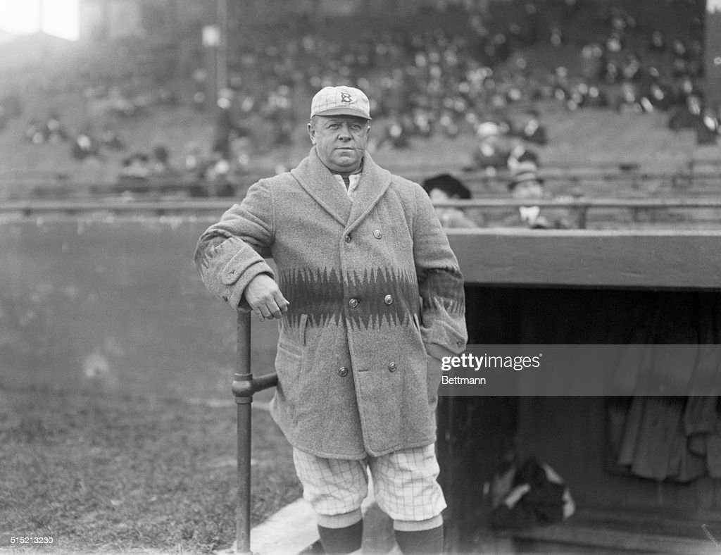 Wilbert Robinson, Brooklyn Dodgers Manager : News Photo