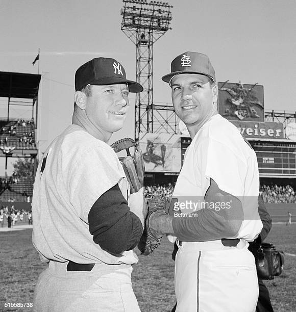 10/7/1964St Louis MO Considered in many circles as outstanding candidates in their respective leagues of most valuable player awards are Mickey...