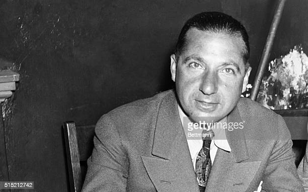 10/9/1939New York NY Frank Costello alleged king pin of America's slot machine business was arrested tonight by Gmen and lodged in the federal house...