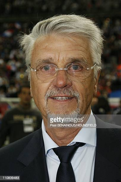 10Th Anniversary Of France S World Cup Victory Football Exhibition Match At The Stade De France In Paris France On July 12 2008 Aime Jacquet