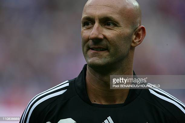 10Th Anniversary Of The French World Champion Of Football Tittle In The Stade Of France In Paris France On July 12 2008 Fabien Barthez