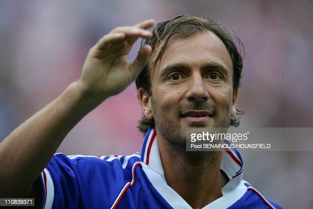 10Th Anniversary Of The French World Champion Of Football Tittle In The Stade Of France In Paris France On July 12 2008 Christophe Dugarry