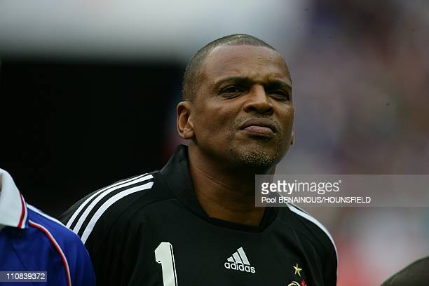 10Th Anniversary Of The French World Champion Of Football Tittle In The Stade Of France In Paris France On July 12 2008 Bernard Lama