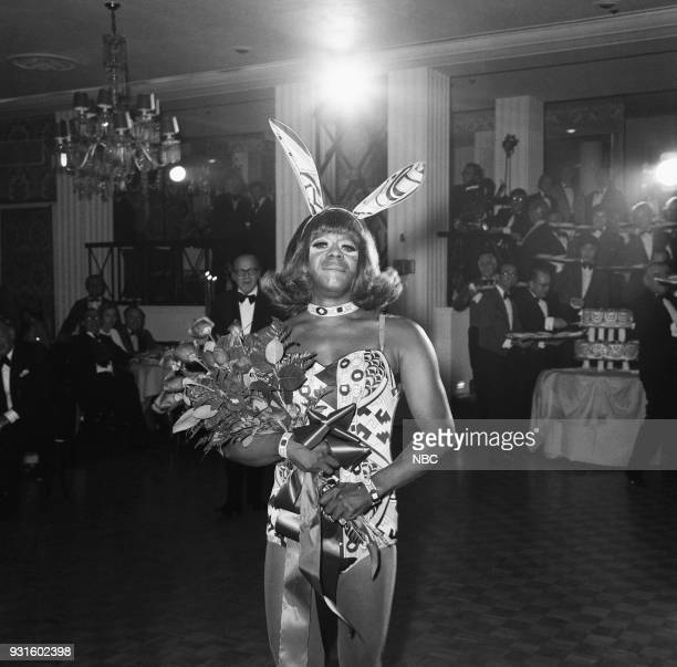 CARSON 10th Anniversary Party Pictured Comedian Flip Wilson as Geraldine during the 'Tonight Show Starring Johnny Carson' 10th Anniversary party on...