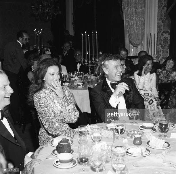 CARSON 10th Anniversary Party Pictured Joanna Holland Johnny Carson during the 'Tonight Show Starring Johnny Carson' 10th Anniversary party on...