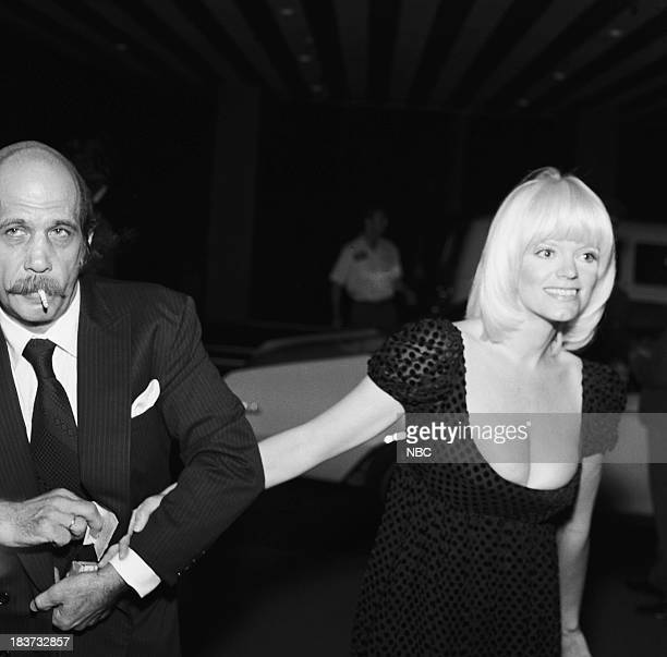 CARSON 10th Anniversary Party Pictured Photographer Barry Feinstein and wife The Tonight Show's Carol Wayne during the 'Tonight Show Starring Johnny...