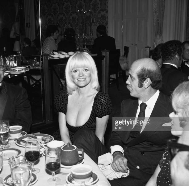 CARSON 10th Anniversary Party Pictured The Tonight Show's Carol Wayne and husband photographer Barry Feinstein during the 'Tonight Show Starring...