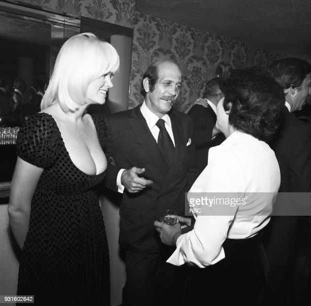 CARSON 10th Anniversary Party Pictured The Tonight Show's Carol Wayne husband photographer Barry Feinstein during the 'Tonight Show Starring Johnny...