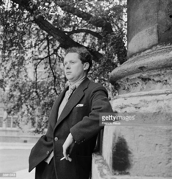 Welsh poet and playwright Dylan Thomas Original Publication Picture Post 4156 Nest Of Singing Birds pub 1946