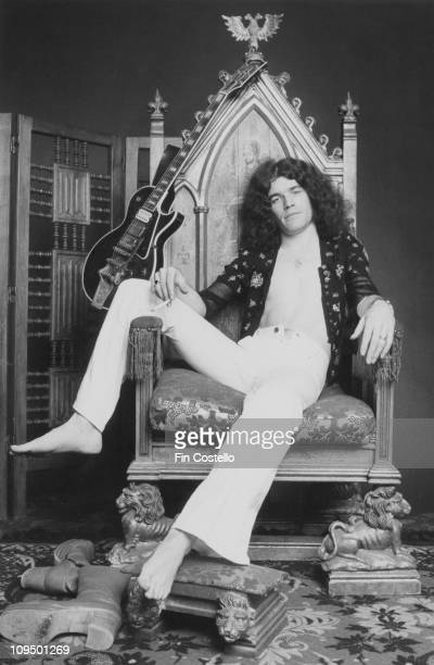Singer Dan McCafferty of Scottish rock group Nazareth posed during the Loud 'n' Proud album session on 10th August 1973