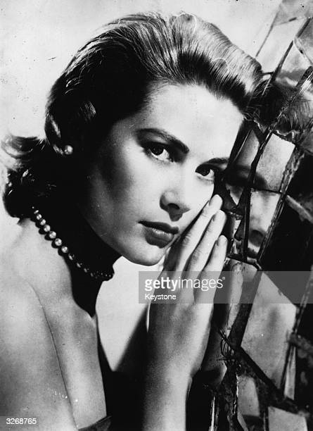 The American film actress Grace Kelly
