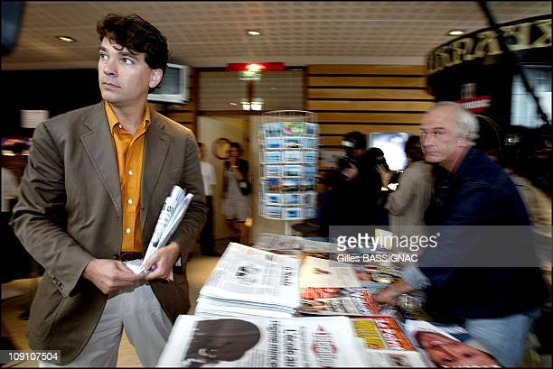 10Th French Socialist Party Summer Conference On August 31St 2002 In La Rochelle France Arnaud Montebourg