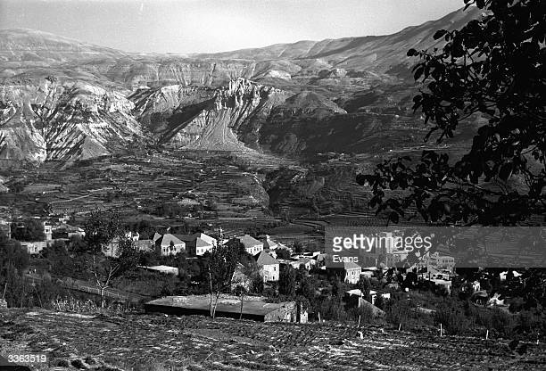 A small village in the White Mountains enroute to the cedars of Lebanon