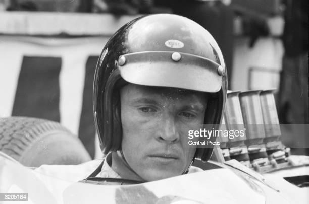 American racing driver Dan Gurney
