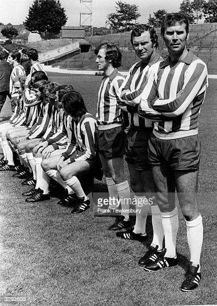 Sheffield Wednesday FC with David Layne and Peter Swann nearest.