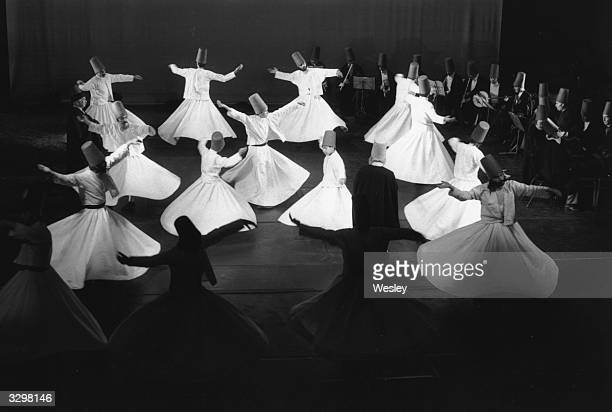 The Whirling Dervishes performing at Sadler's Wells