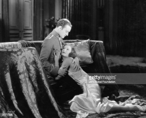 SwedishAmerican actress Greta Garbo as the glamorous Russian spy Tania in the romantic drama 'The Mysterious Lady' directed by Fred Niblo She...