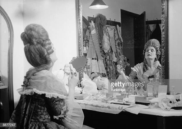 An actress in the dressing rooms of the Theatre Royal Bristol