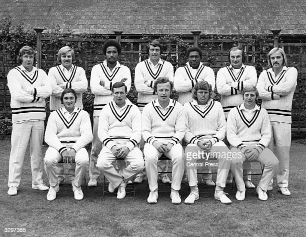 The Hampshire County Cricket Club team of 1974 then league champions