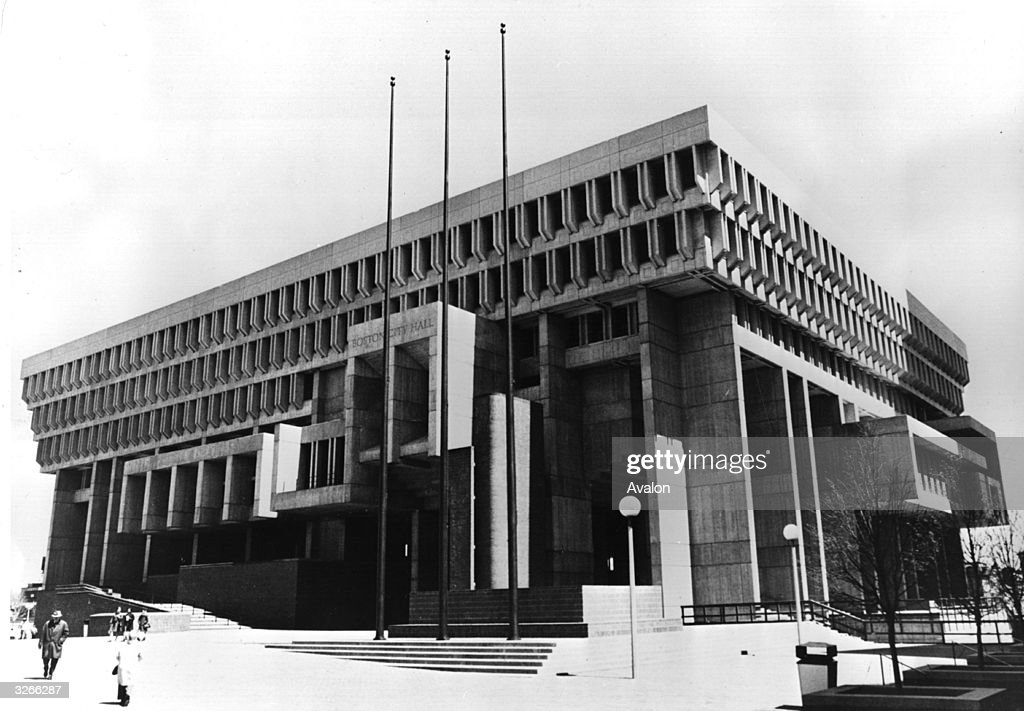 Boston City Hall : News Photo